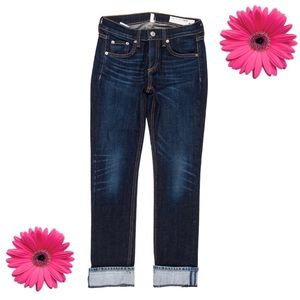Rag & Bone Cropped Carrie Jeans